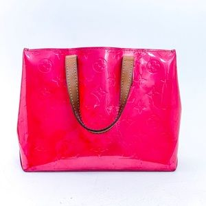 Louis Vuitton Reade Pm Hand Bag Hot Pink Custom